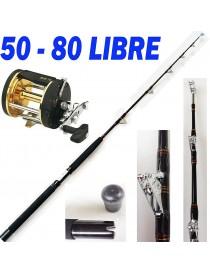 Canna Pesca Traina 80 Libre...