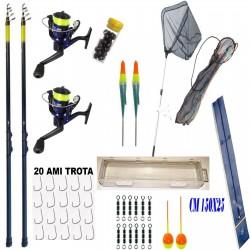 Kit Pesca Trota Lago 2...